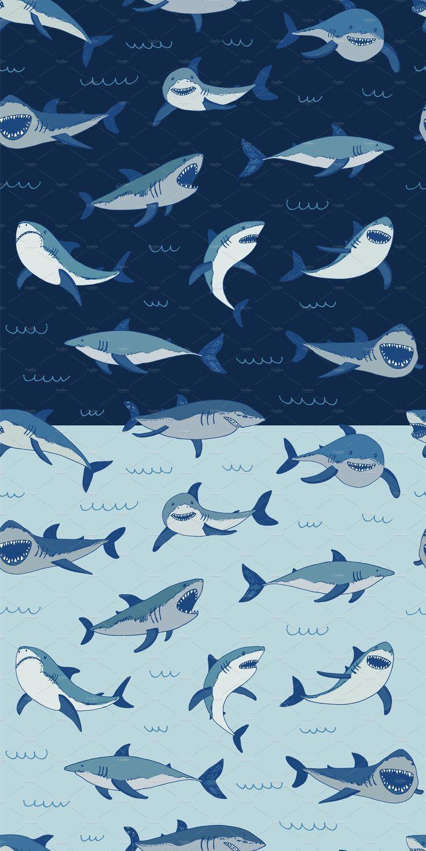 Shark Shark background, Shark illustration, Shark