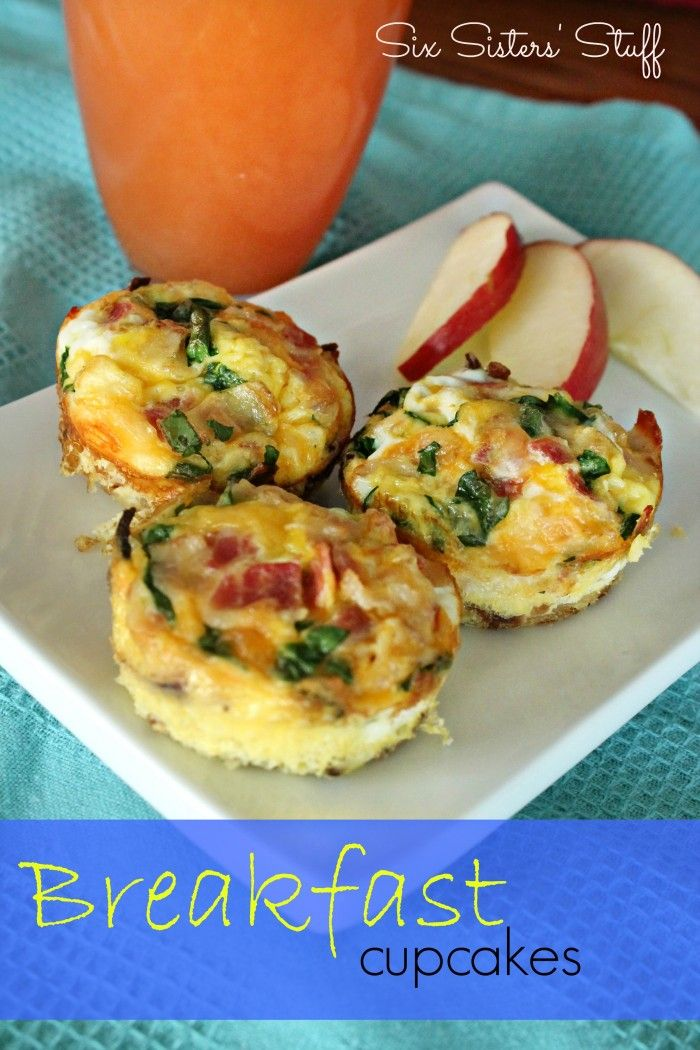 Breakfast Cupcakes | Recipe | Breakfast muffins, Bacon and ...