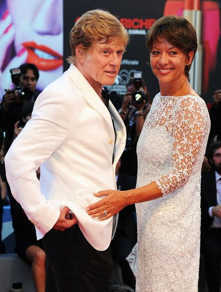 robert redford's wife picture   Robert Redfords Wife Robert redford actor/director