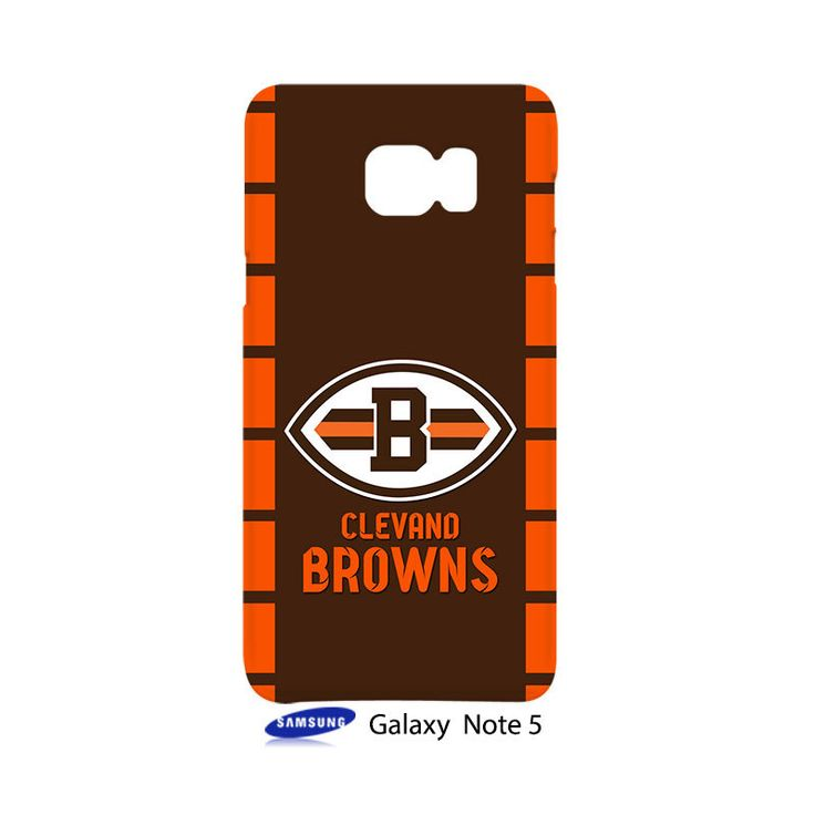 Cleveland Browns Samsung Galaxy Note 5 Case Cover Wrap Around