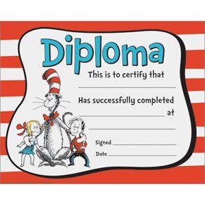 Cat In The Hat™ Diplomas