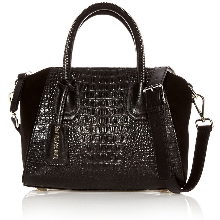 CROCODILE BLACK SILVER BAG - Autumn/Winter 2014 collection.  view more on www.leowulff.com