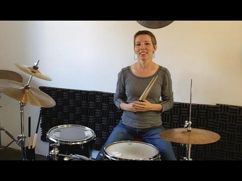 Simple -- I like the hands-only part and evenly spaced notes  concept. Drum Lessons For Kids Part 1 ♦ No drum set needed - YouTube