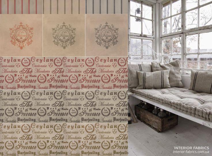Современный деревенский стиль в интерьере: дерево, лен и хенд-мейд.  Коллекция интерьерных тканей PROVENCE - 55% LI, 45% VI; ширина 140 см. Выбирайте НАТУРАЛЬНЫЕ ЛЬНЯНЫЕ ТКАНИ на сайте  http://interior-fabrics.com.ua/