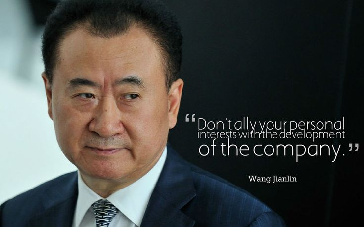 10 inspiring business quotes from the top 10 richest people in Asia! \m/ Rank 1 Net worth: $29.2 billion Age: 61 Country: China Industry: Real estate Source of wealth: Self-made; Dalian Wanda Group #Business #inspiration #motivation #life #quotes #asia #contactdb #databaseprovider #10of10