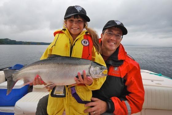 Salmon Fishing Report: August 31, 2012.  #explorecanada