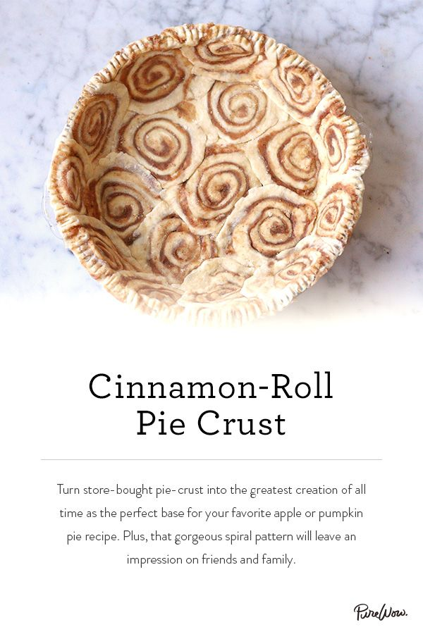Looking for a perfect dessert? Our Cinnamon-Roll Pie Crust is easy to make and even easier to impress. Pick your favorite pie content, bake and serve.