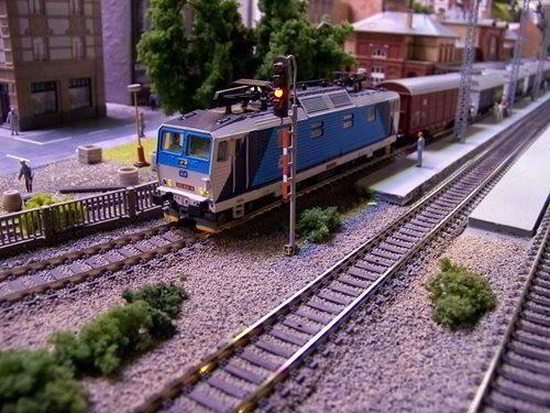 Království železnic v Praze na Smíchově - největší modelová železnice v ČR