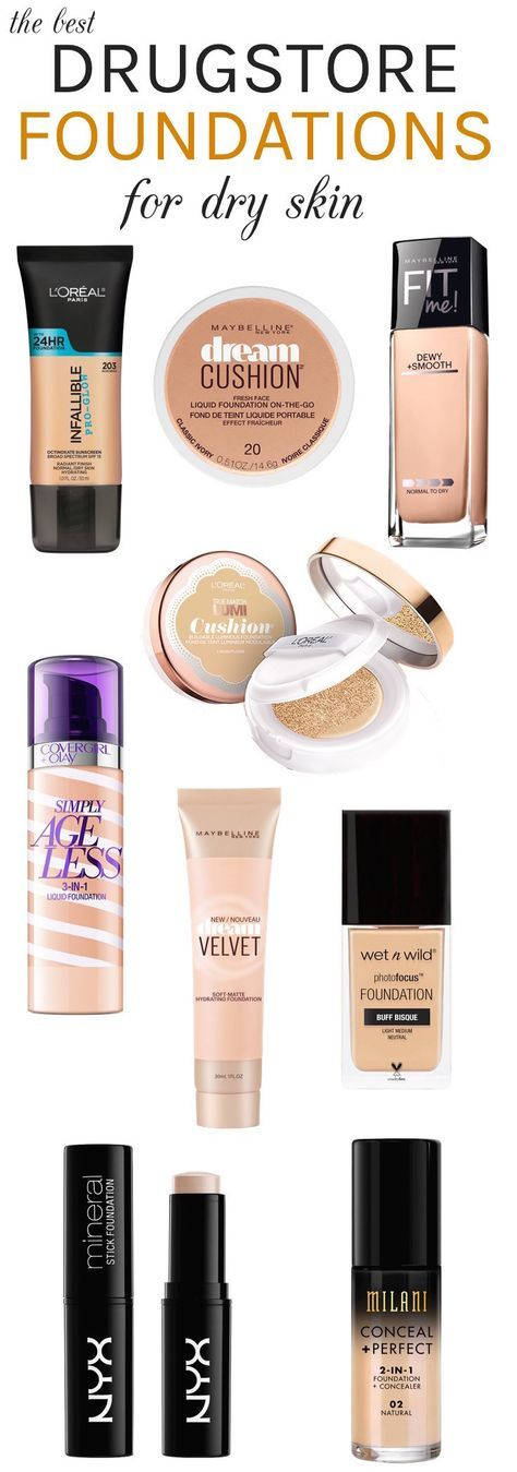 Dry skin? Here are the best drugstore hydrating foundations with a dewy fresh finish that can instantly take your complexion from drab to fab!