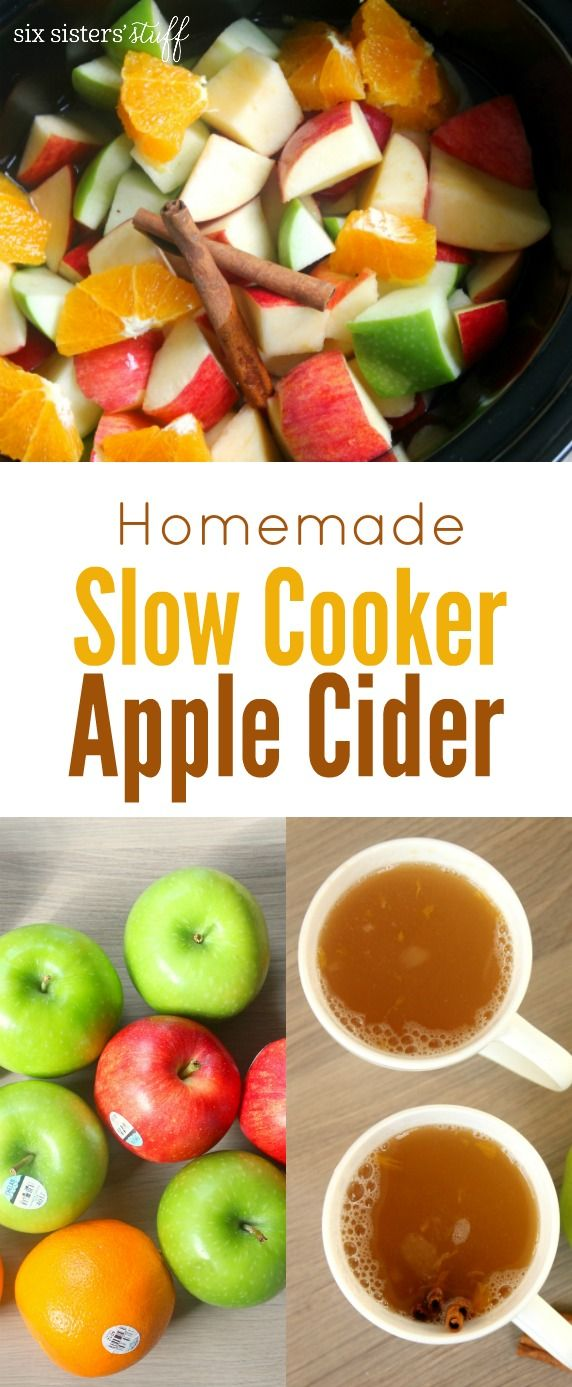 How to make Apple Cider in your slow cooker!