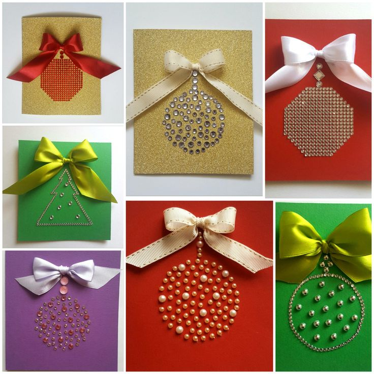 Handmade for Christmas tags, greeting cards by HomemadeTreasuresss on Etsy