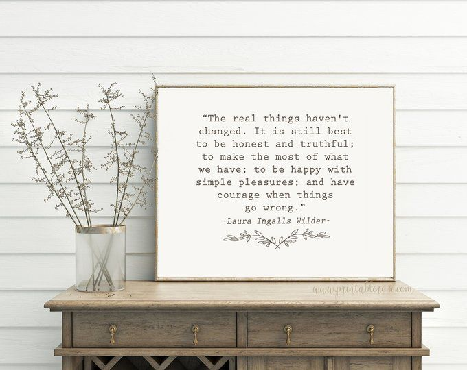 farmhouse decor printable quotes farmhouse wall decor laura ingalls wilder quote farmhouse on farmhouse kitchen quotes free printable id=82044