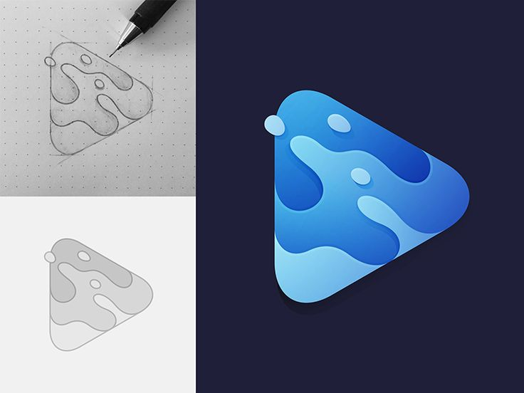 Player Logo by Yoga Perdana #Design Popular #Dribbble #shots