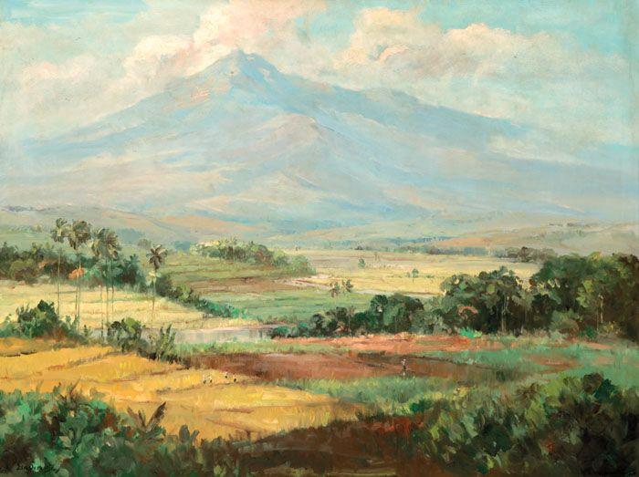 Ernest Dezentje (Jatinegara, 1885 – 1972) - Landscape