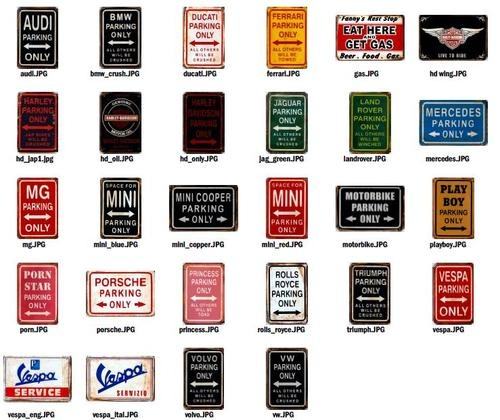 Best Cool Stuff To Buy Images On Pinterest Wall Signs - Bmw parking only signs