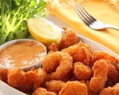 Crevettes panées (facile, rapide) - Une recette CuisineAZ