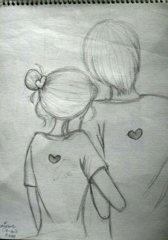DIBUJOS de AMOR → Imágenes de Amor Bonitas para Colorear o Dibujar ...