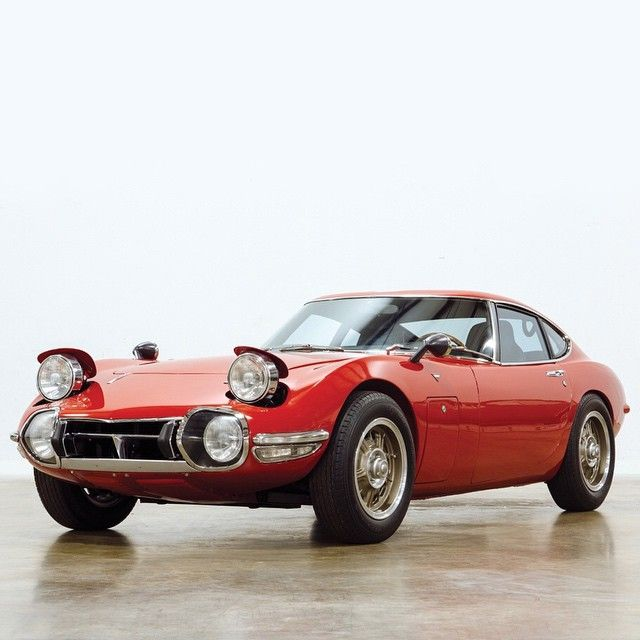 One of only 84 left-hand-drive 1968 Toyota 2000GT's, this car was built to…