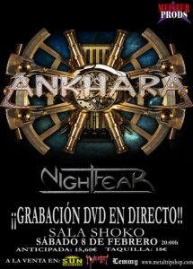 Ankhara y NightFear: Sala Shoko (Madrid) 08/02/2014