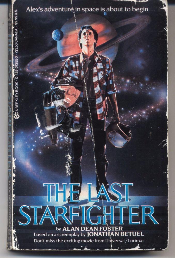 Alan Dean Foster: The Last Starfighter movie tie-in pb 1984