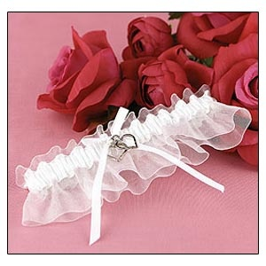 Satin Garter (Linked at the Heart silver Collection)