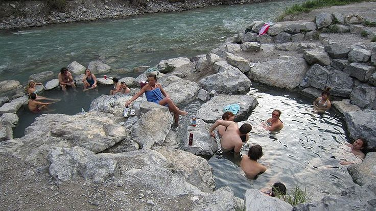 Lussier Hot Springs is a quaint and undeveloped hot spring just inside Whiteswan Lake Provincial Park in British Columbia, #Canada See: http://en.wikipedia.org/wiki/Lussier_Hot_Springs