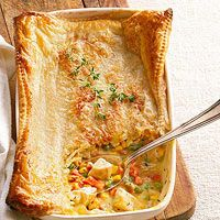 Make-It-Mine Pot Pie Recipe-Choose From a List of Variable Ingredients!  Easy Peasy!