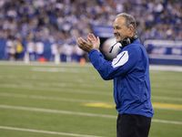 Chuck Pagano is staying in Indianapolis. The Colts and Pagano agreed to a four-year contract extension on Monday night, the team announced.