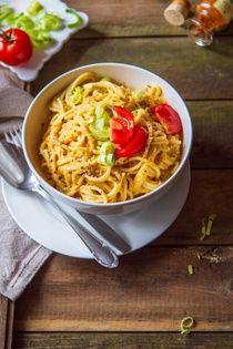 Špagety s bejby omáčkou