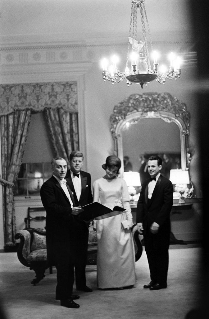 John and Jackie Kennedy on the evening before the inauguration, January 1961 http://www.rosettabooks.com/?s=JFK