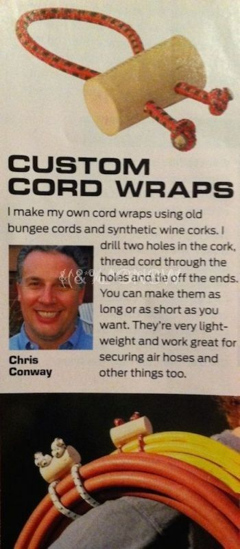 Follow these 7 simple steps to make your own custom extension cord wrap. Keeping…