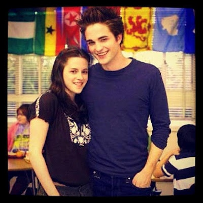 Twilight moment :') aww look how young they look. Actually that makes me feel inappropriate.
