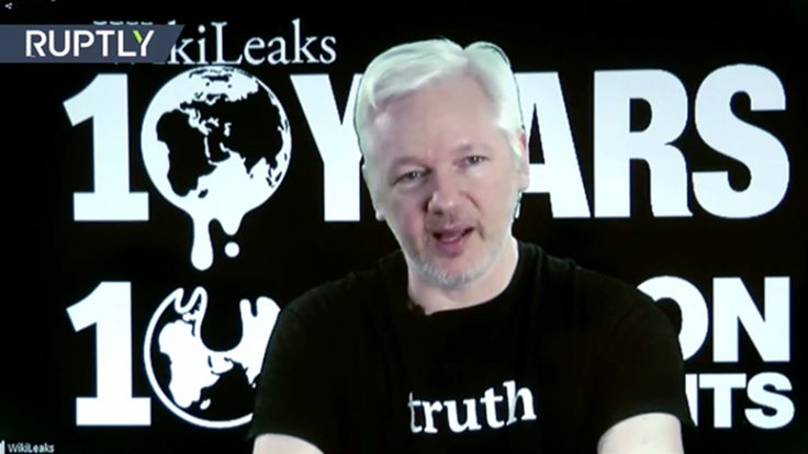 Julian Assange a annoncé lors d'une conférence pour les dix ans de Wikileaks que de nombreux documents concernant les élections américaines seront diffusés au cours du mois prochain. Chaque semaine durant dix semaines, des documents sur les élections...