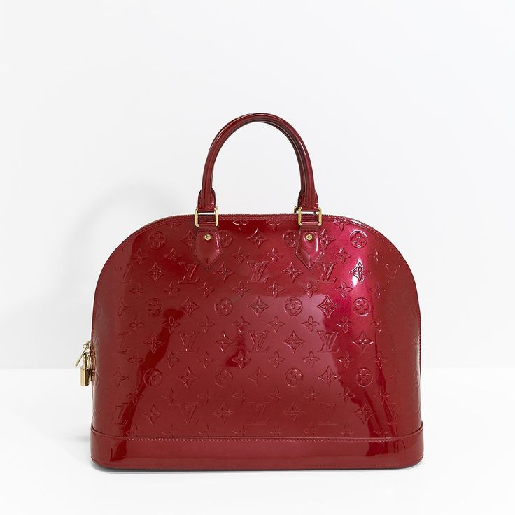 The shape of Louis Vuitton Alma bag can fit to any woman's wardrobe.  Price: USD 1,103 Search SKU:16436