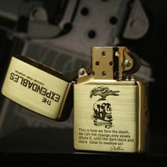Etching Brass The Expendables Zippo Limited Edition