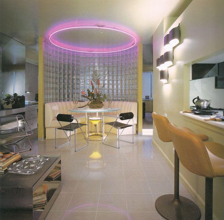 Mario botta 80s postmodern interior design