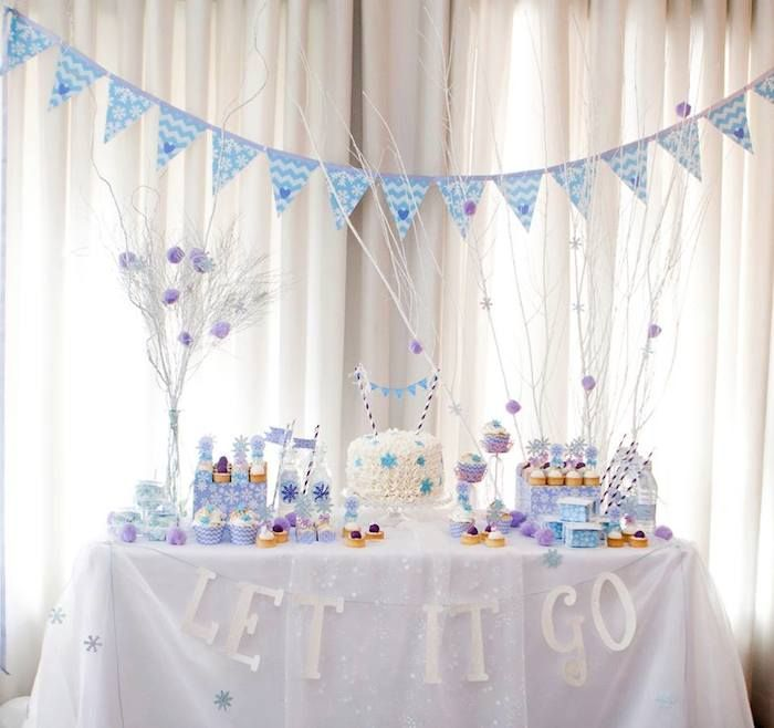 Frozen themed birthday party