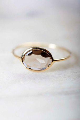 Mathilde Danglade Jewels, smoky quartz ring