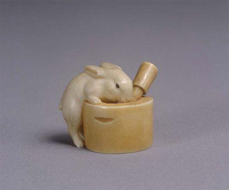 【江戸時代】小さくて可愛い見事な意匠。日本独自の小さな細密彫刻「根付」の世界