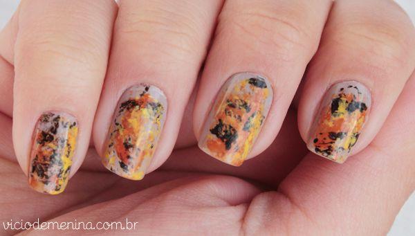 Vício de Menina: 3 tutoriais para Nail Art de Halloween