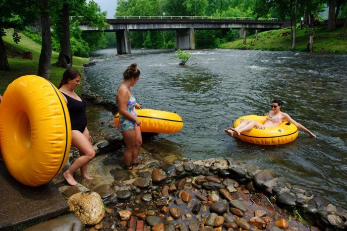 There's Nothing Better Than Tennessee's Natural Lazy River On A Summer's Day