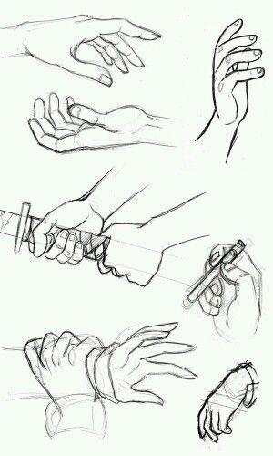 """Hands """"(°▼°)"""""""