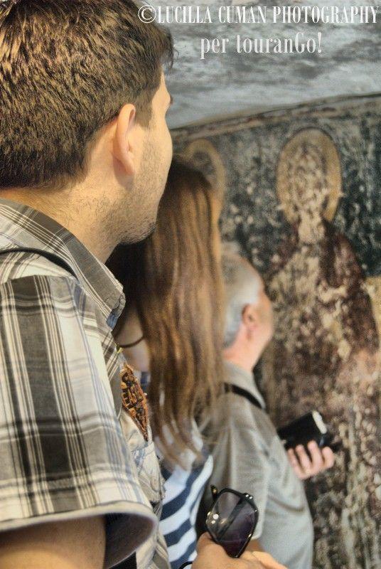 La nostra guida trasmette emozioni da raccontare e osservare . . . #tourango #salento #cripte #tour #puglia