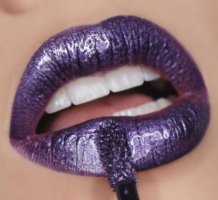 nyx Cosmic Metals Lip Cream in 'Ultraviolet