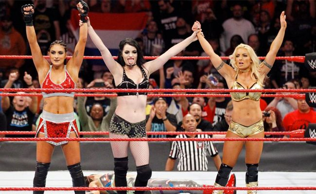 Paige, Mandy Rose, and Sonya Deville make a perfect faction for WWE Raw, despite fan objections that other women should have been chosen.