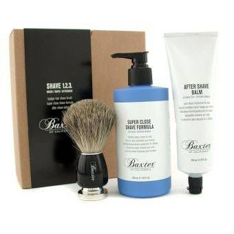 Buy (IMPORTED) Baxter Of California Shave 1.2.3 Set Shave Formula + Balm + Brush 3pcs online at Lazada. Discount prices and promotional sale on all. Free Shipping.