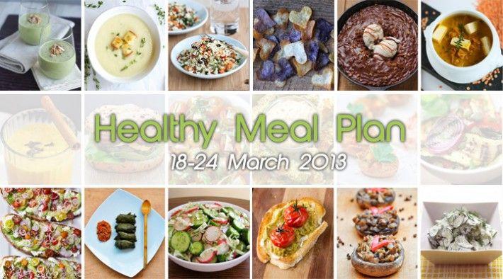 Healthy delicious vegan food