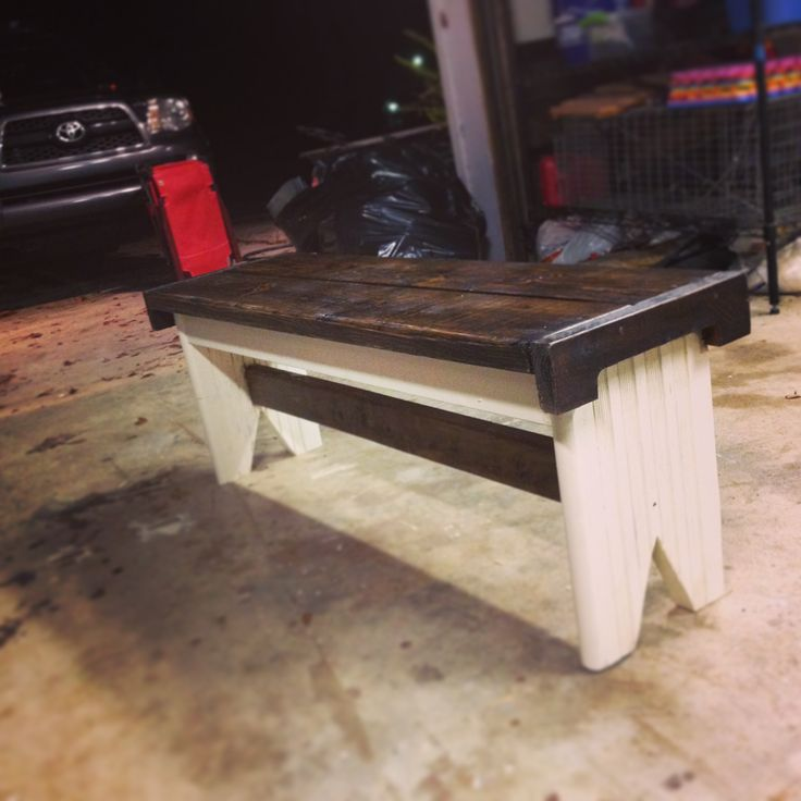 Dinning room table bench
