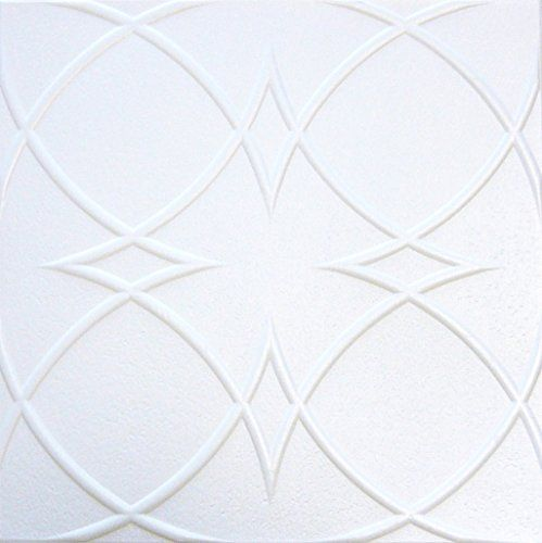"Decorative Styrofoam Ceiling Tile R-23 Pack of 4 Tiles 1/8"" 20""x20""can Be Glued Over Popcorn and Sheet Rock Pain Table .Glue On,tape On. ceiling tile http://www.amazon.com/dp/B00319I21G/ref=cm_sw_r_pi_dp_2IsZwb1TNN06Z"