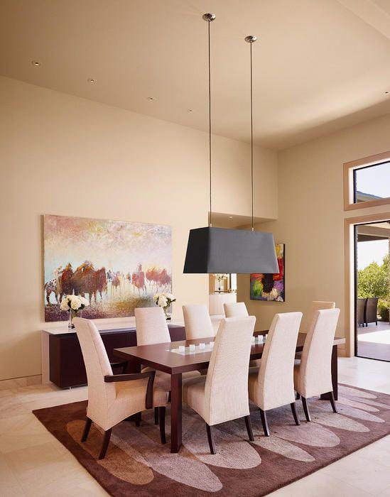 Contemporary Dining Room Design Photo by Susie Johnson Interior Design Album - Rivercliff, Rivercliff Dining Room